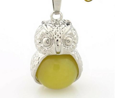 Pöllöriipus - lemon jade
