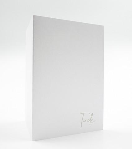 10 x 14 Tack - kiitoskortti