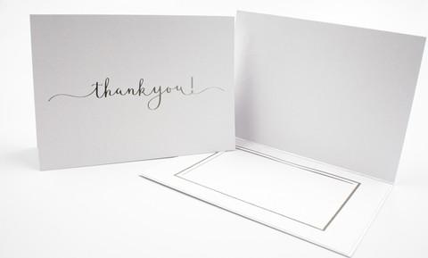10 x 14 Thank you - kiitoskortti