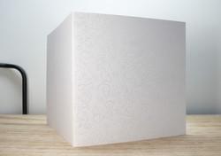 Gothic valkoinen - korttipohja