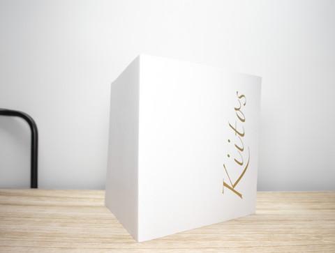 14 x 14 Kiitos - korttipohja