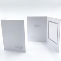 9 x 12 hopeinen ylioppilaslakki ja ruusut - kiitoskortti