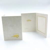 9 x 12 kultainen ylioppilaslakki ja ruusut - kiitoskortti