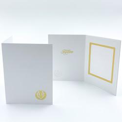 9 x 12 kultainen lyyra - kiitoskortti