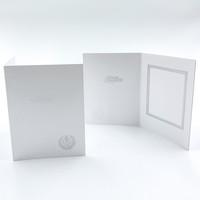 9 x 12 hopeinen lyyra - kiitoskortti