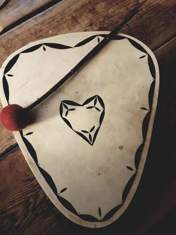 Shamaanirumpu sydän