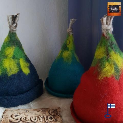 Satu-saunahattu Vihta Vetreä - valmistetaan tilauksesta