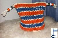 Malla-myssy Oranssi sininen vara
