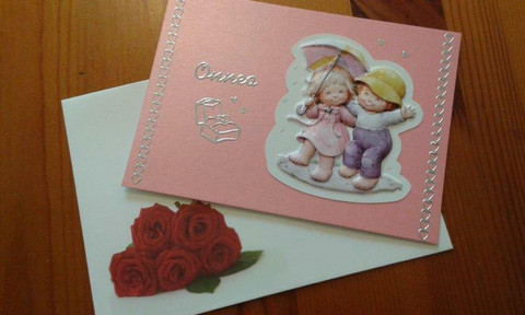 Onni-kortti Onnea - sormukset