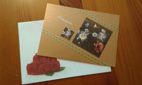 Onni-kortti Onnea - kukkakeijut suklaa