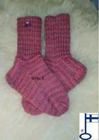 Itu sukat Raitasukat Vadelmat kanervamättäällä N33-34