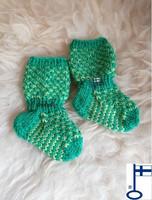 Topias-sukat Vihreää 1 ensisukat T00-17
