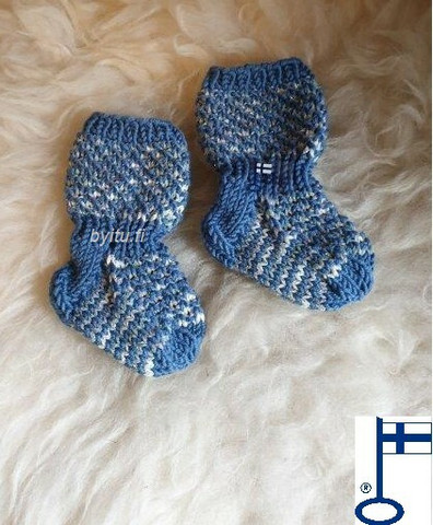 Topias-sukat Sinertää ensisukat T00-17