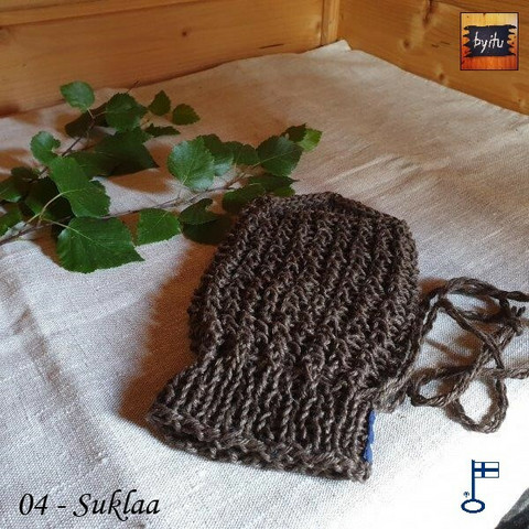 Bertil-pesukinnas Pellava - Suklaa 04