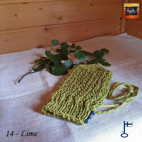 Bertil-pesukinnas Pellava - Lime 14