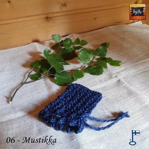 Jenni-saippuapussukka - Mustikka 06