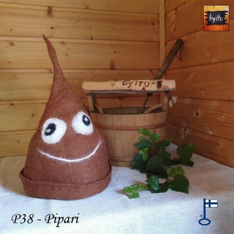 Satu-saunahattu PaskaPäivä Perjantai Pipari - XS