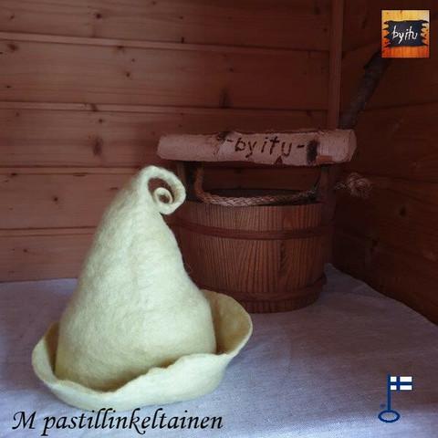 Satu-saunahattu Rouva Velho yksi väri - valmistetaan tilauksesta