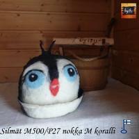 Satu-saunahattu Pingviini M