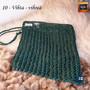 Pellervo pesulappu 100 % pellava - 10 Vihta - vihreä