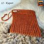 Pellervo pesulappu 100 % pellava - 12 Kupari