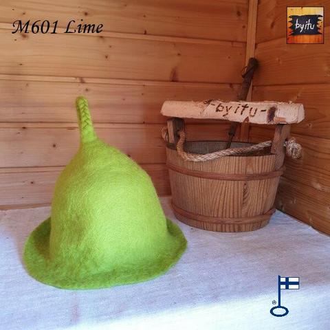 Satu-saunahattu Saunaperinne Lime S