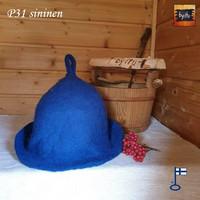 Satu-saunahattu Saunaperinne koko M - sininen