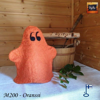 Satu-saunahattu Linnankummitus Oranssi S