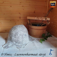 Satu-saunahattu Miesten saunavuoro HarmaaMix L