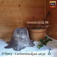 Satu-saunahattu Miesten saunavuoro RuskeaMix M