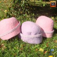 Satu-saunahattu Auteritar - moni väri - valmistetaan tilauksesta