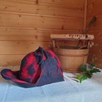 Satu-saunahattu Metsuri saunoo - valmistetaan tilauksesta