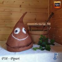 Satu-saunahattu PaskaPäivä Perjantai Pipari - L