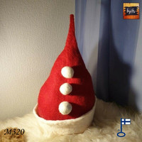 Satu-saunahattu Mesilöylyn kuumat kivet pukeutuu jouluun L