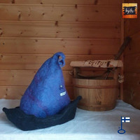 Satu-saunahattu Rouva Velho Moni väri - valmistetaan tilauksesta