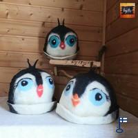 Satu-saunahattu Pingviini L