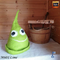 Satu-saunahattu PaskaPäivä Perjantai Lime - S