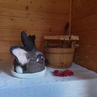 Satu-saunahattu Sauna Bambi-Boy valmistetaan tilauksesta