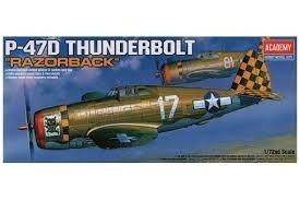 Academy 1/72 P-47D