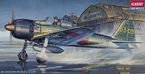 Academy 1/72 A6M5c Zero Fighter Type 52c