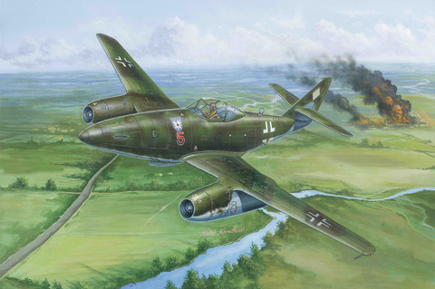 Hobby Boss 1/48 Me 262 A-1a/U1