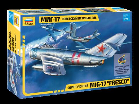 Zvezda 1/72 MiG-17
