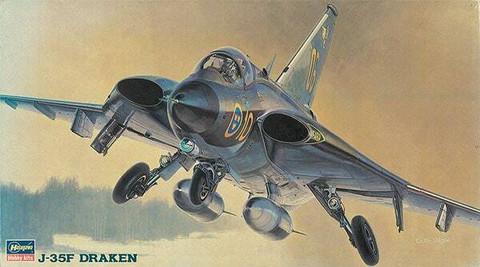 Hasegawa 1/72 J-35F Draken
