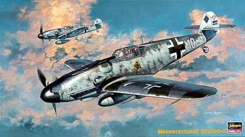 Hasegawa 1/48 Messerschmitt Bf109G-6