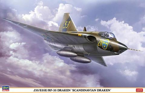 Hasegawa 1/48 J35/S35E/RF-35 Draken 'Scandinavian Draken'