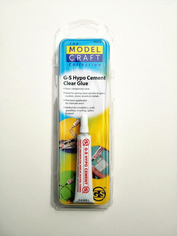 ModelCraft liima, kirkas  (G-S Hypo Cement Clear Glue)