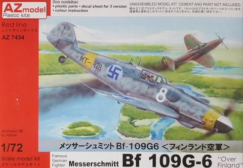 AZ 1/72 Messerchmitt Bf 109G-6