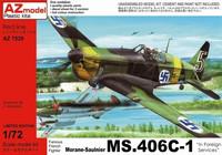 AZ 1/72 Morane-Saulnier MS.406C-1