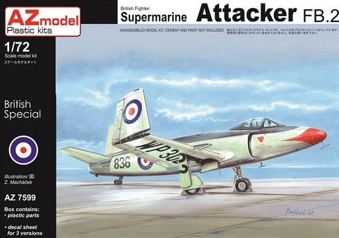 AZ 1/72 Supermarine Attacker FB.2