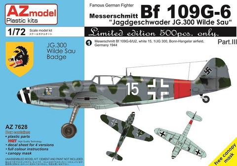 AZ 1/72 Bf-109G-6